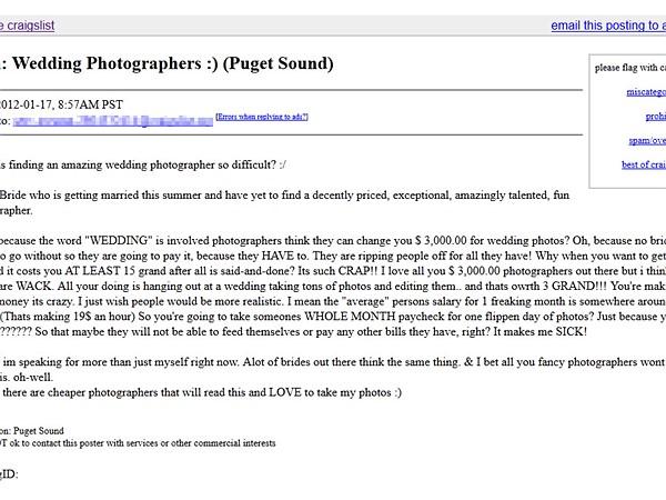 Wedding Photographer Explains The Reasons Behind Unrealistic