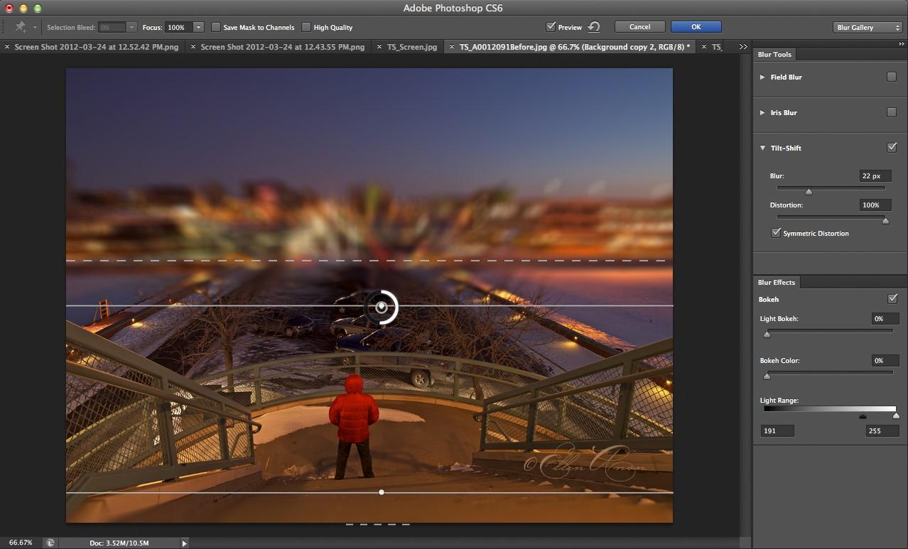 Как сделать в photoshop cs6 сделать эффекты