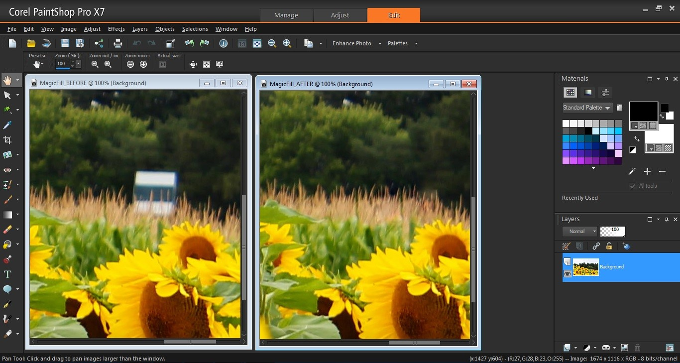 corel unveils paintshop pro x7 with new tools and a fresh design rh dpreview com Paint Shop Pro Dos Paint Shop Pro Dos