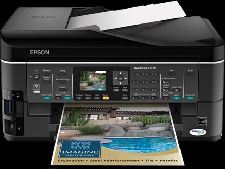 Epson Workforce 635 Digital Photography Review
