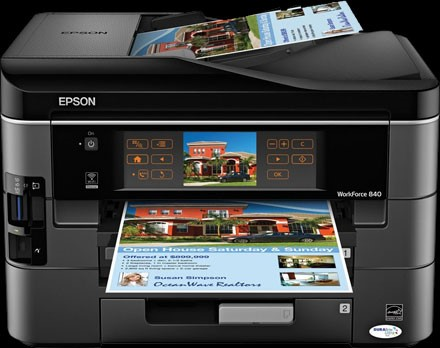 Epson Workforce 840 Digital Photography Review