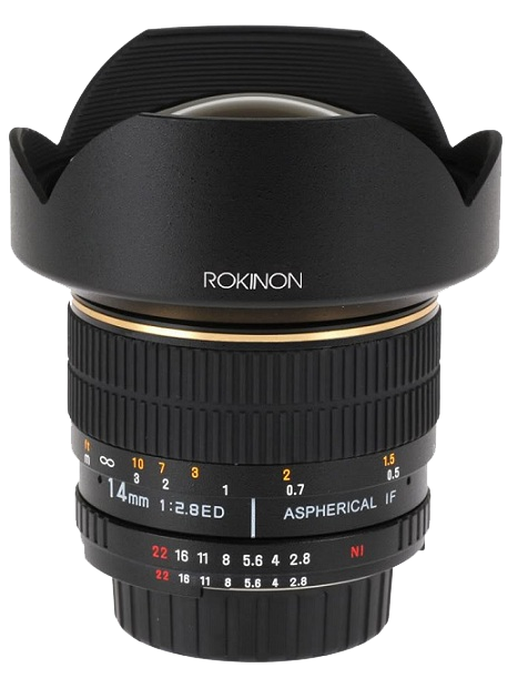 Rokinon 14mm F2.8 IF ED MC