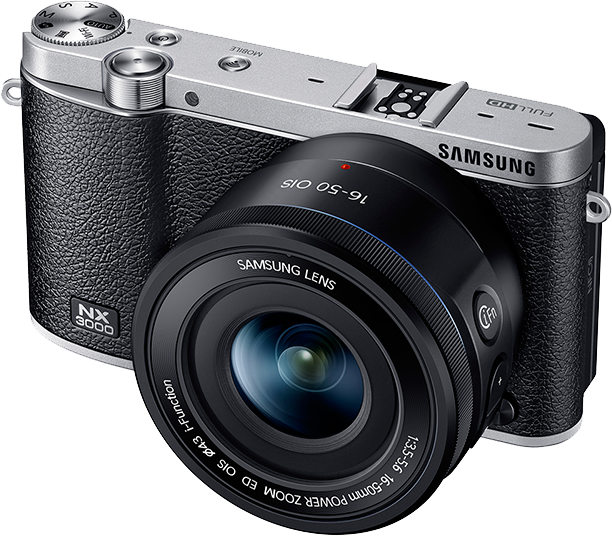 Nx3000 with 16-50mm power zoom lens and flash   samsung support uk.