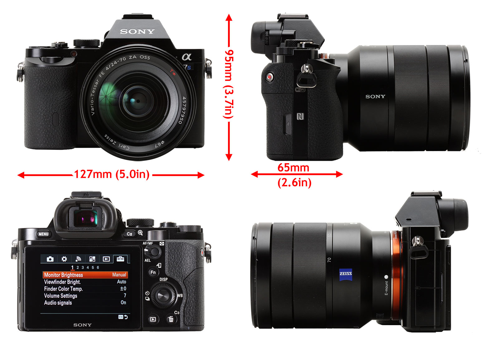 Sony Alpha 7s Review Digital Photography Flex Flexy Flexyble Canon Aperture 18 55 Is The A7s Controls Buttons Dials And Menus Are Identical To Those Found On A7 A7r In Short Reasonably Laid Out