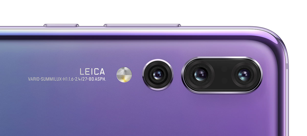Huawei unveils the P20 Pro with triple camera and large 1/1 7-inch