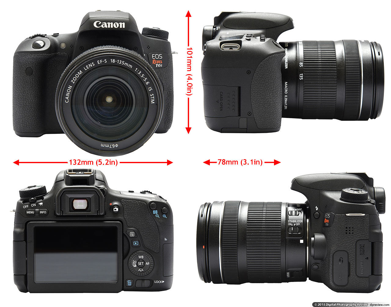 canon eos rebel t6s t6i 760d 750d first impressions review digital photography review. Black Bedroom Furniture Sets. Home Design Ideas