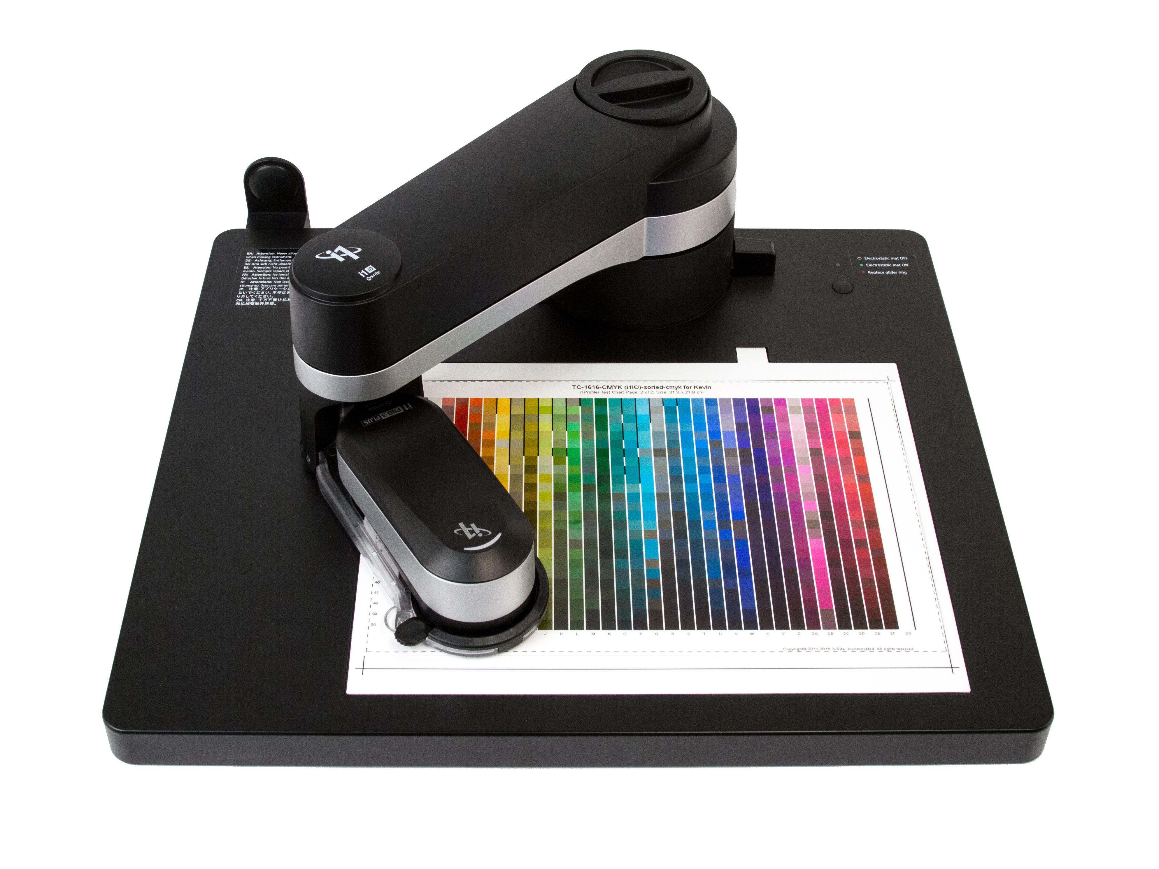 X-Rite's i1Photo Pro 3 Plus profiler can calibrate for