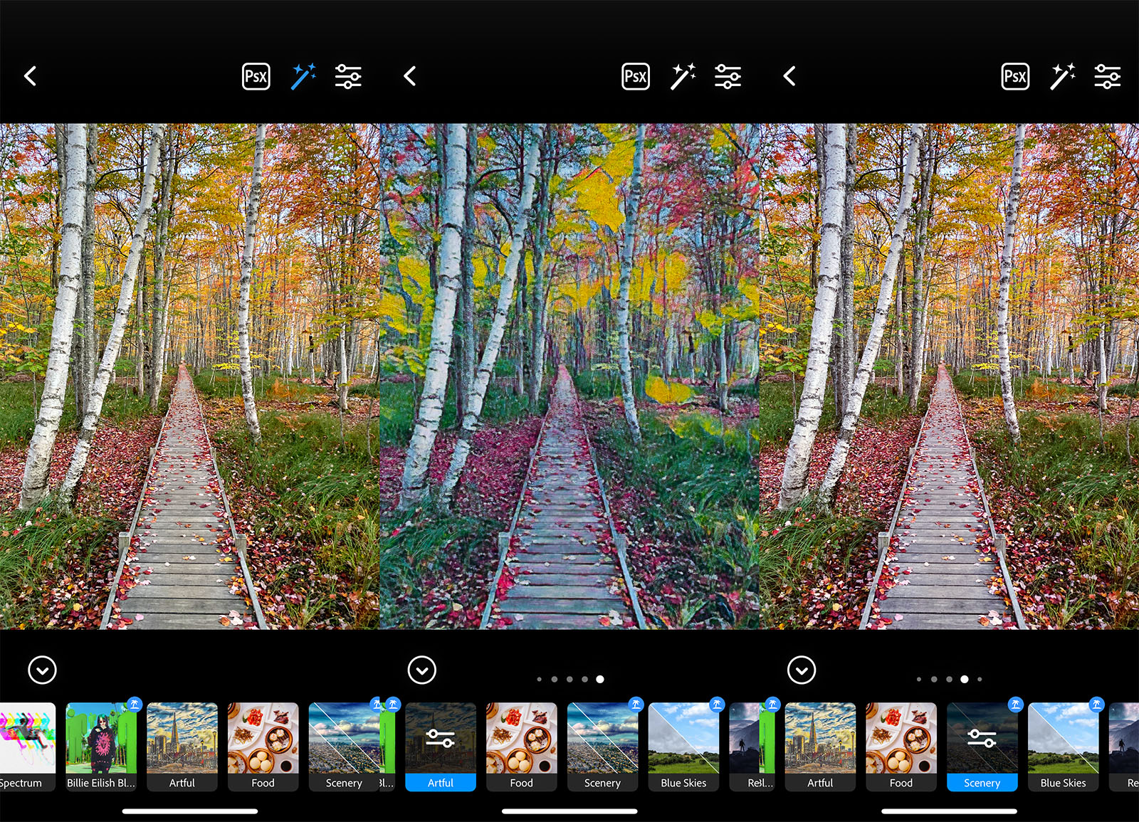Adobe Photoshop Camera app released for Android and iOS, offering AI-powered 'Lenses': Digital Photography Review