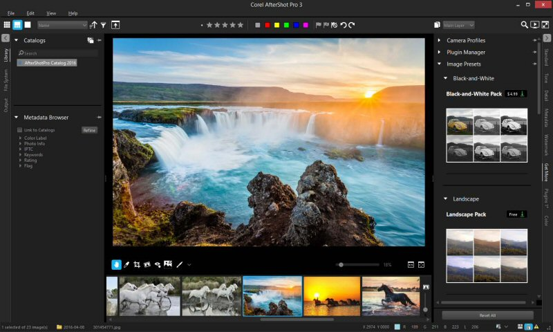 Image result for corel aftershot pro features