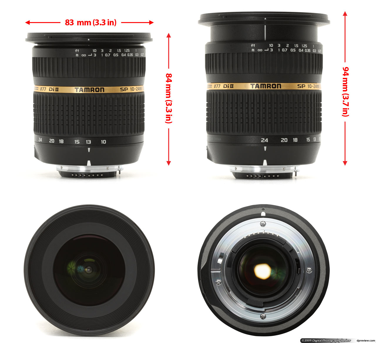 Tamron SP AF 10-24mm F3.5-4.5 Di II LD Aspherical (IF) review ...