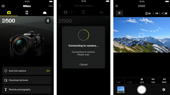Nikon's redesigned SnapBridge app adds full manual camera
