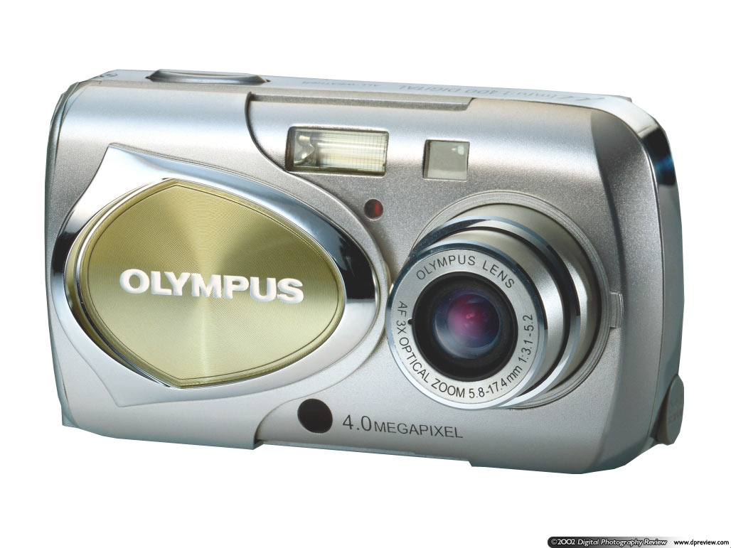 Olympus Mju Stylus Digital 300 And 400 Digital