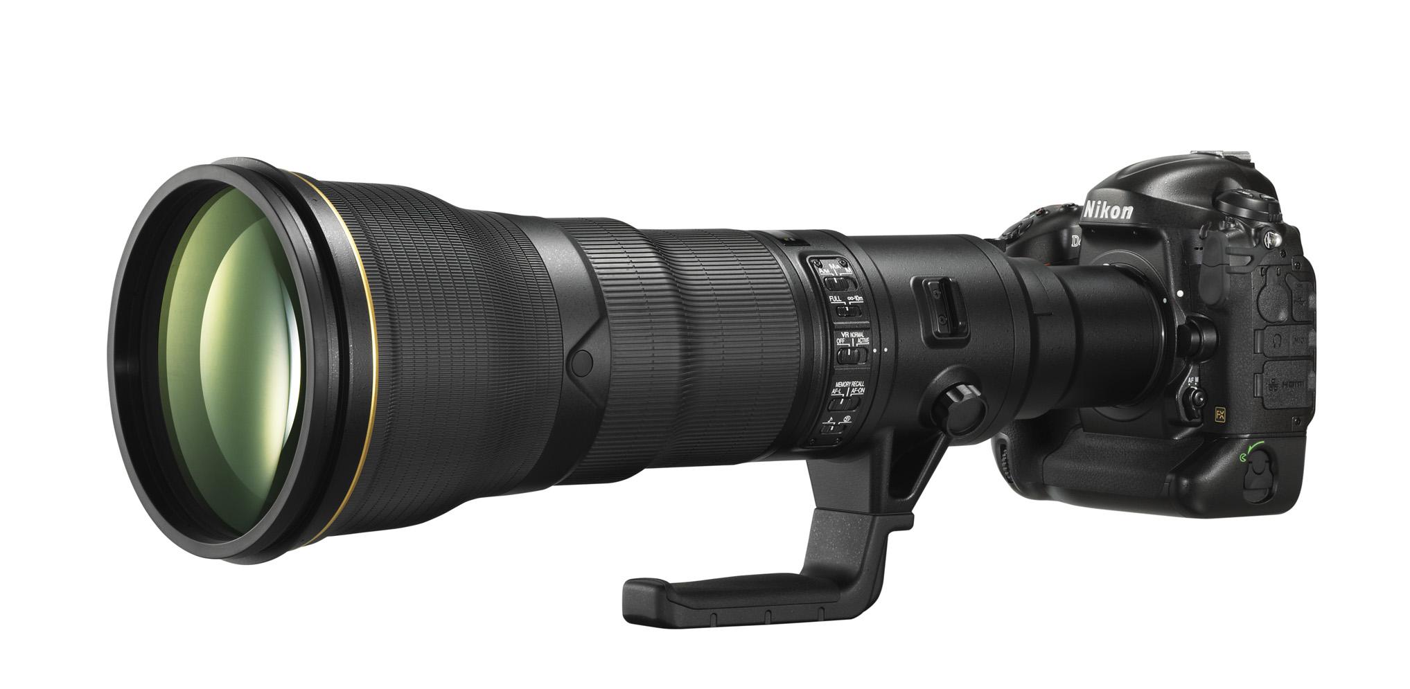 Nikon announces development of 800mm F5 6 VR super-telephoto lens