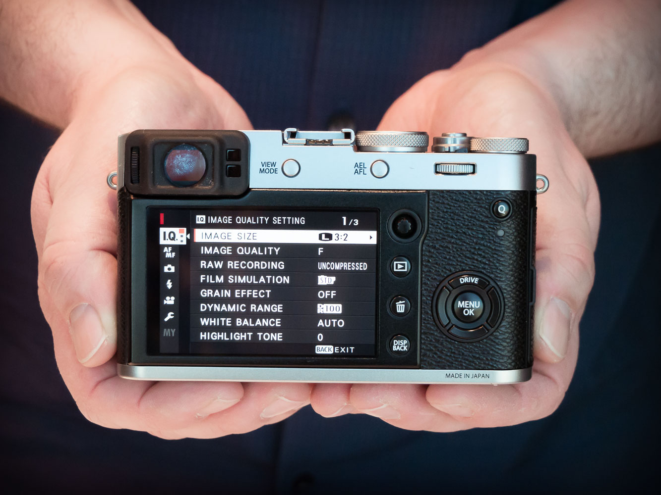 F for '4th': Hands-on with Fujifilm X100F – My Digital