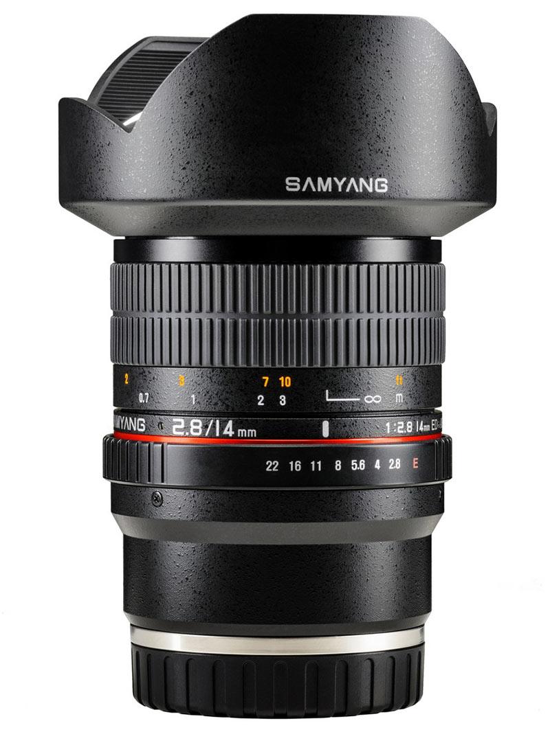 samyang 14mm f28 ed as if umc e mount version