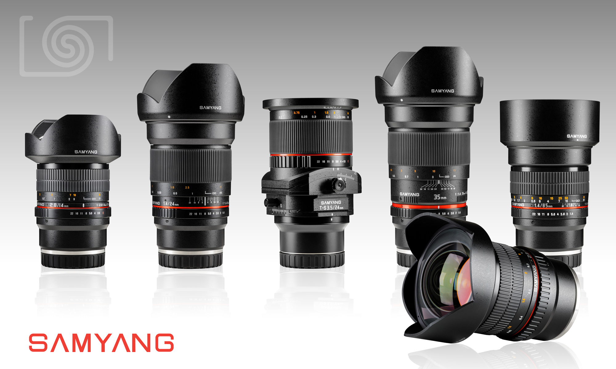 samyang full frame lenses with sony e mount