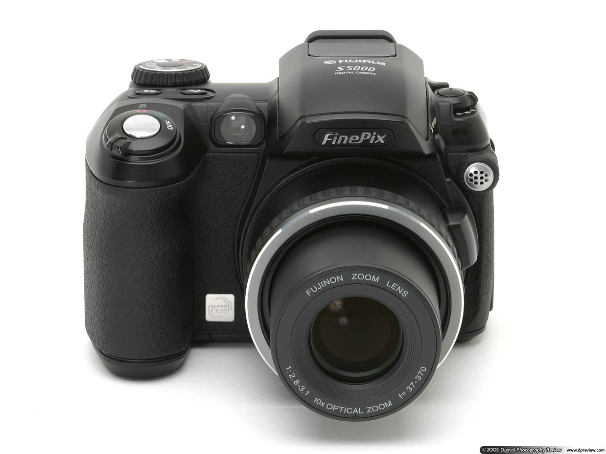 Fujifilm announced the FinePix S5000 Zoom on 29th July 2003. It represents  an affordable, compact, lightweight three megapixel (SuperCCD pixels)  digital ...