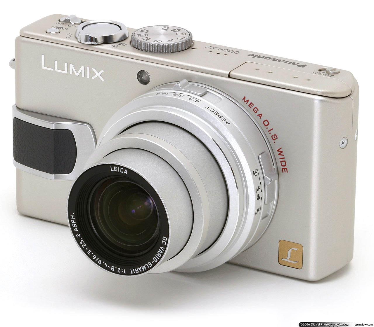 Panasonic lumix dmc lx2 | letsgodigital.