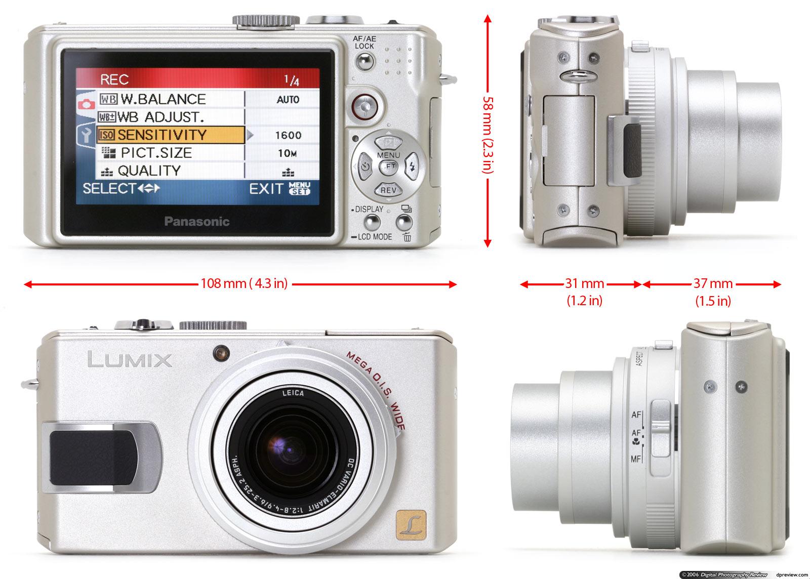 Panasonic lumix lx2 firmware.