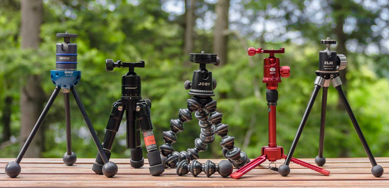 Beyond the table top: 5 mini tripods reviewed: Digital ...