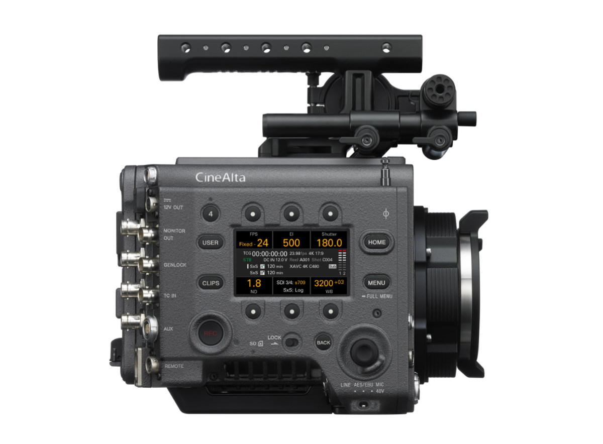 Sony VENICE motion picture camera firmware v4 0 update