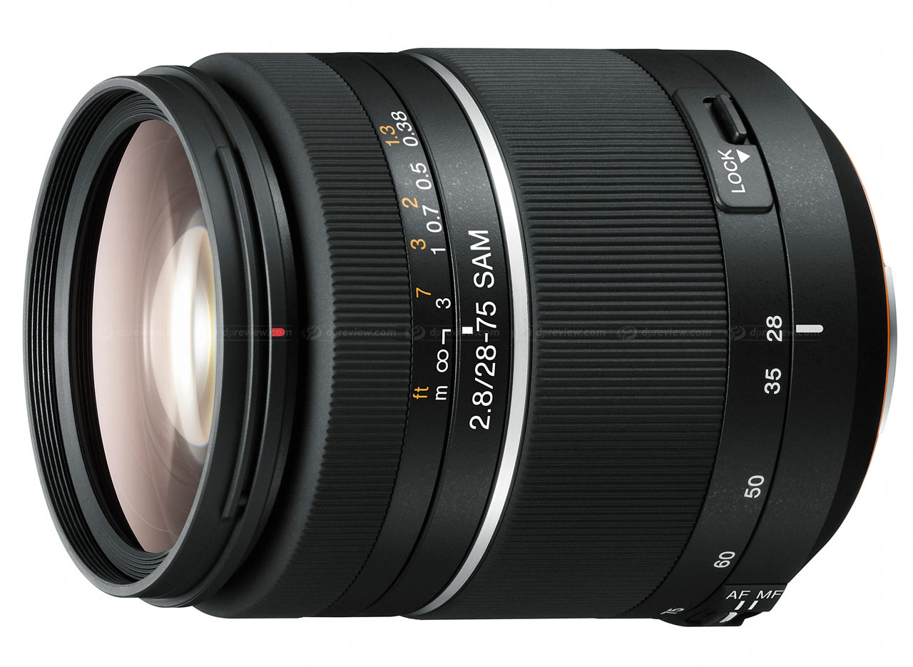 Sony announces 28-75mm F2.8 SAM lens: Digital Photography Review