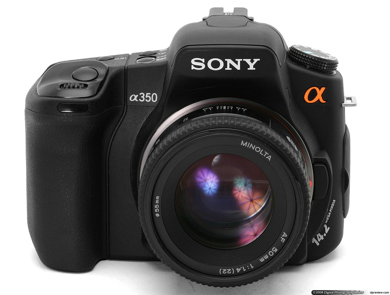Camera Sony Dslr A300 Camera sony alpha dslr a350 review digital photography review