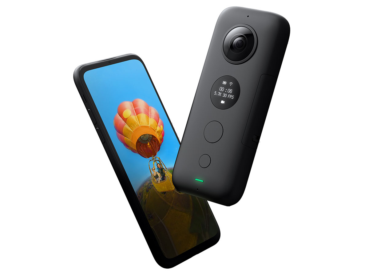 Insta360 One X hands-on review: Digital Photography Review