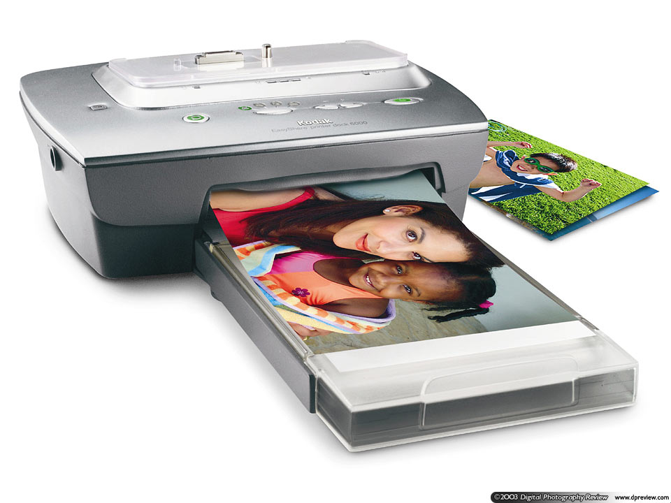 kodak easyshare printer dock 6000 digital photography review