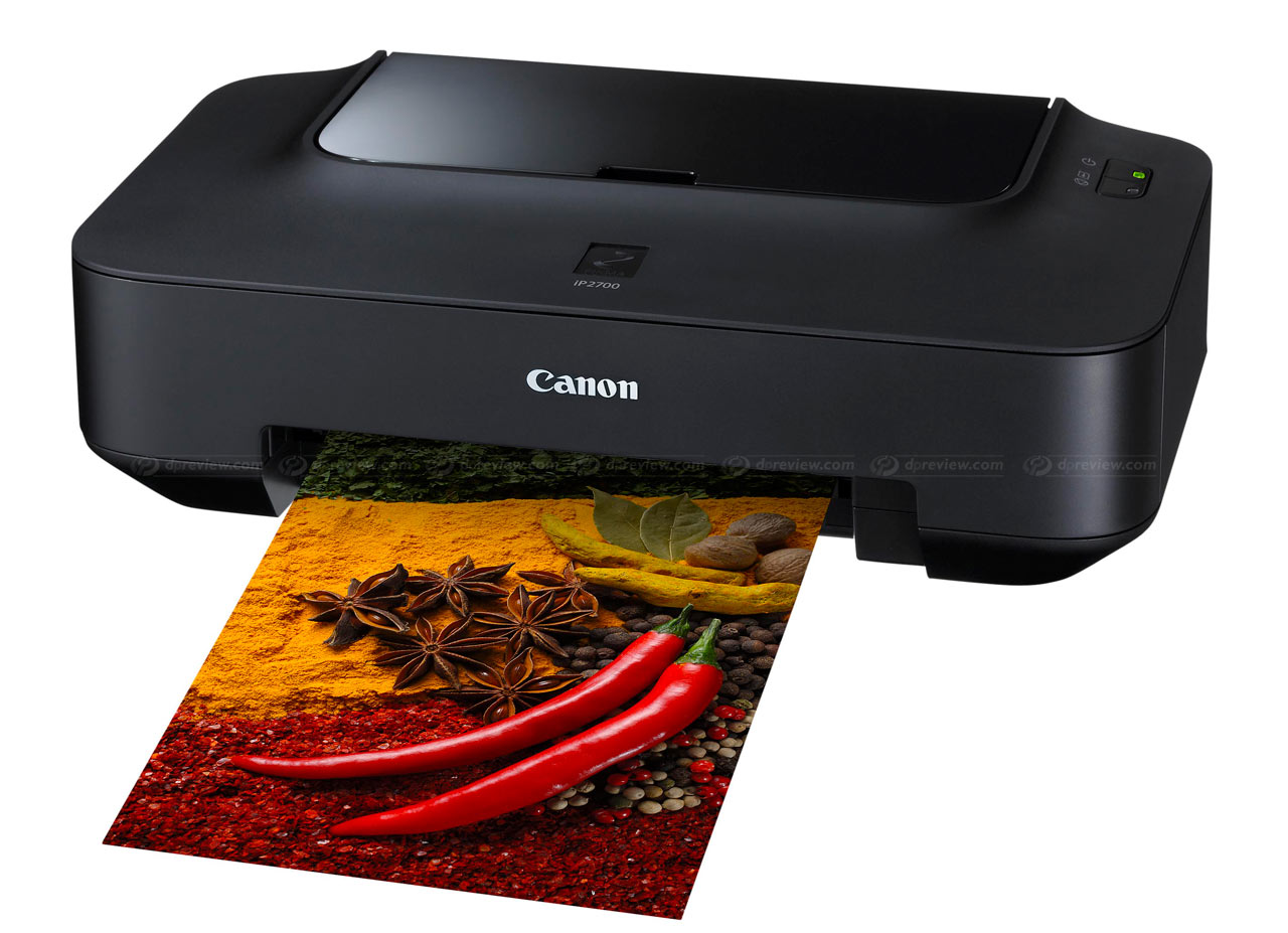 PIXMA iP2700: Bringing photolab-quality and speed to the home user