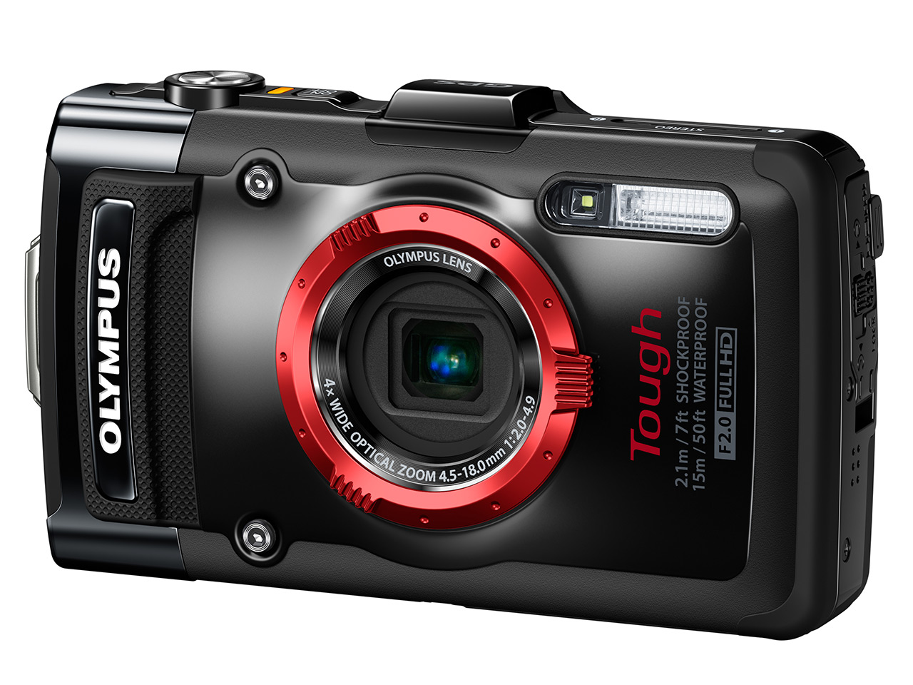 olympus launches stylus tough tg-2 ihs tough underwater camera