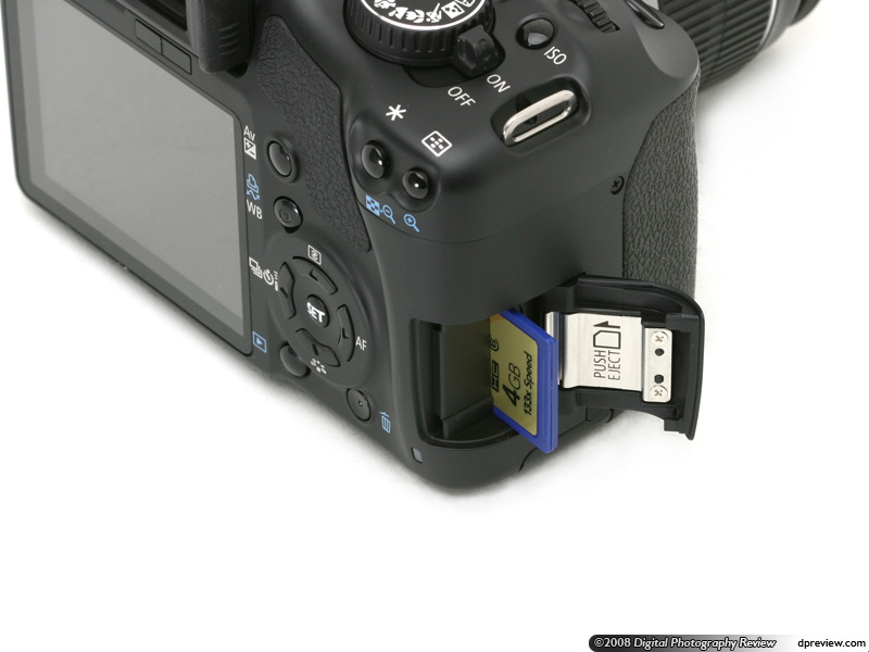 Canon EOS 450D / Rebel XSi: what's changed: Digital