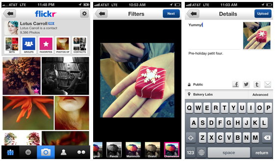 Flickr app update adds photo filters: Digital Photography Review