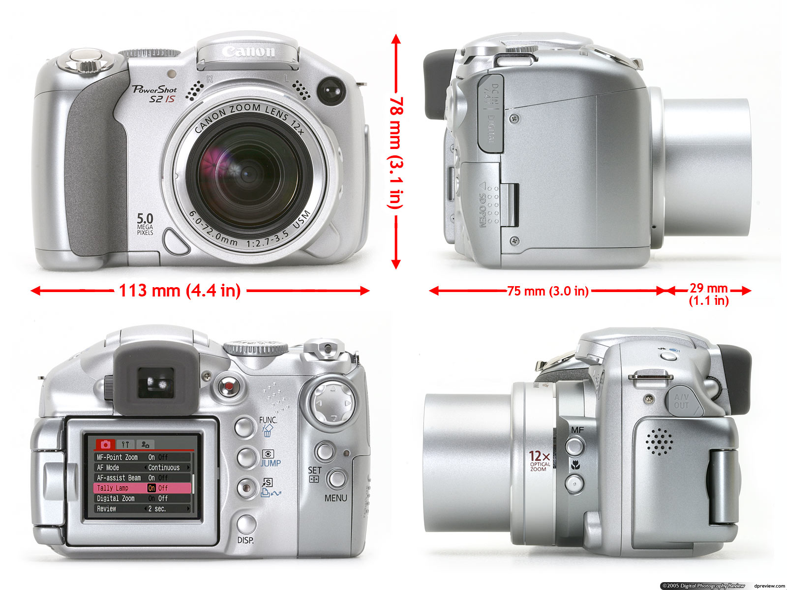 Canon Powershot S2 Is Review Digital Photography Review