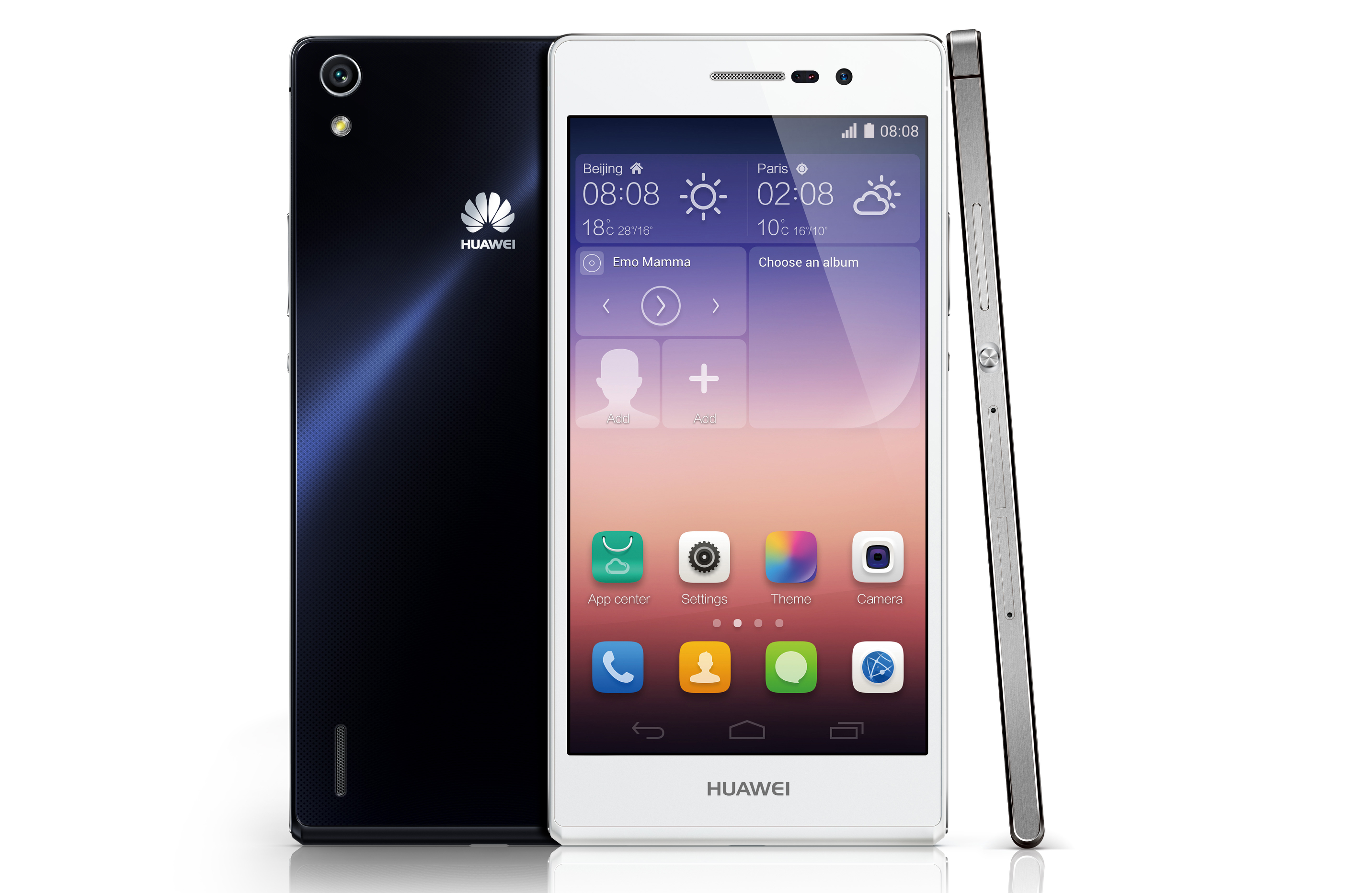Camera Android Phones With Front Camera huawei launches ultra slim ascend p7 with 8mp front camera digital photography review