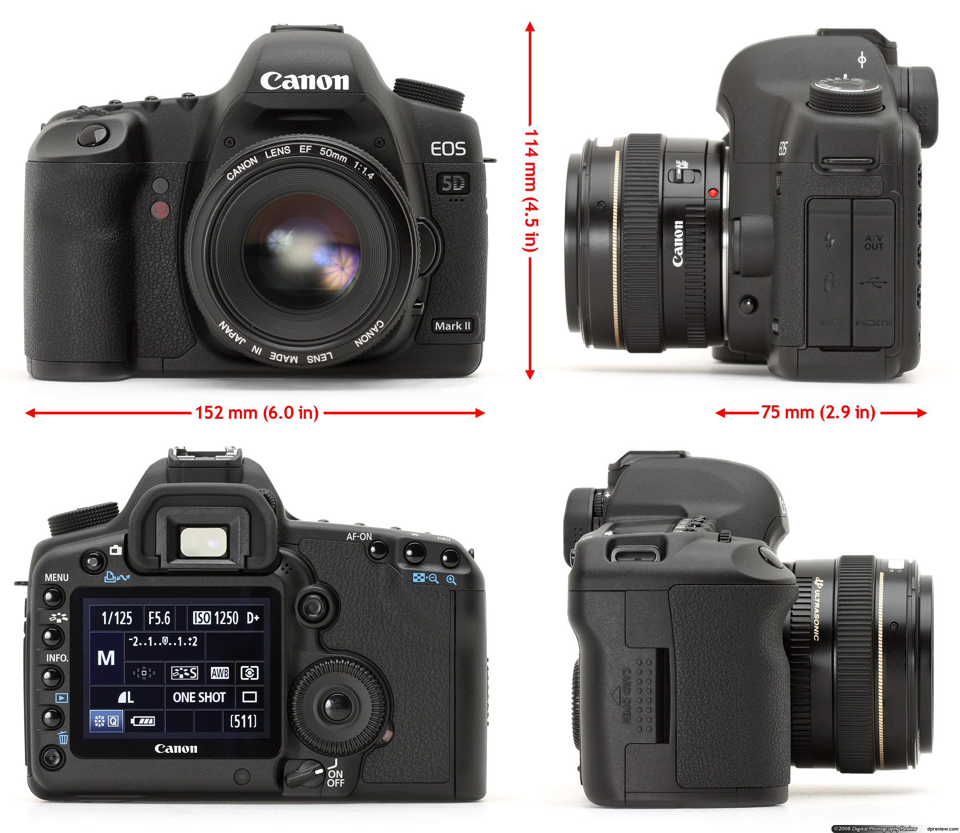 At First Glance The Mark II Looks Very Similar To Original EOS 5D And Thats Surely Intentional Firstly There Wasnt A Huge Amount Wrong With