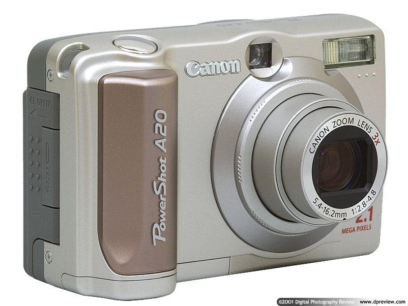 canon powershot a20 review digital photography review rh dpreview com Canon PowerShot SX500 IS Canon Cameras