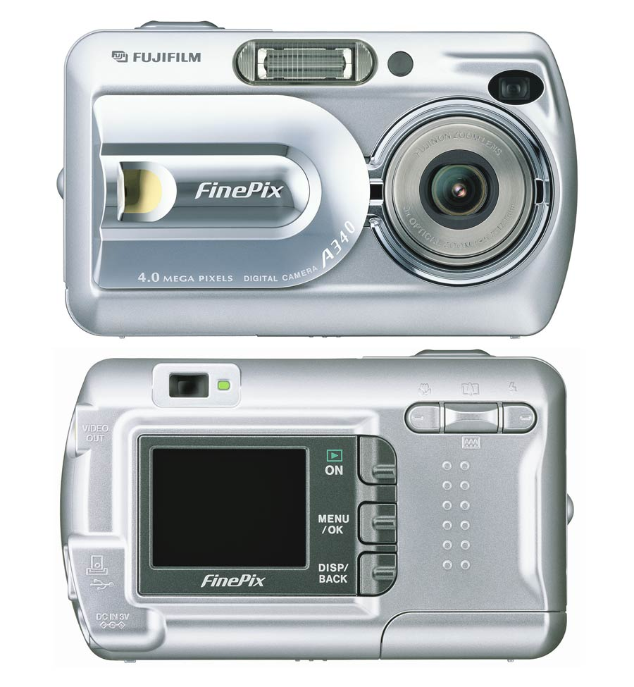 FinePix A340 Zoom: Fujifilm goes for four