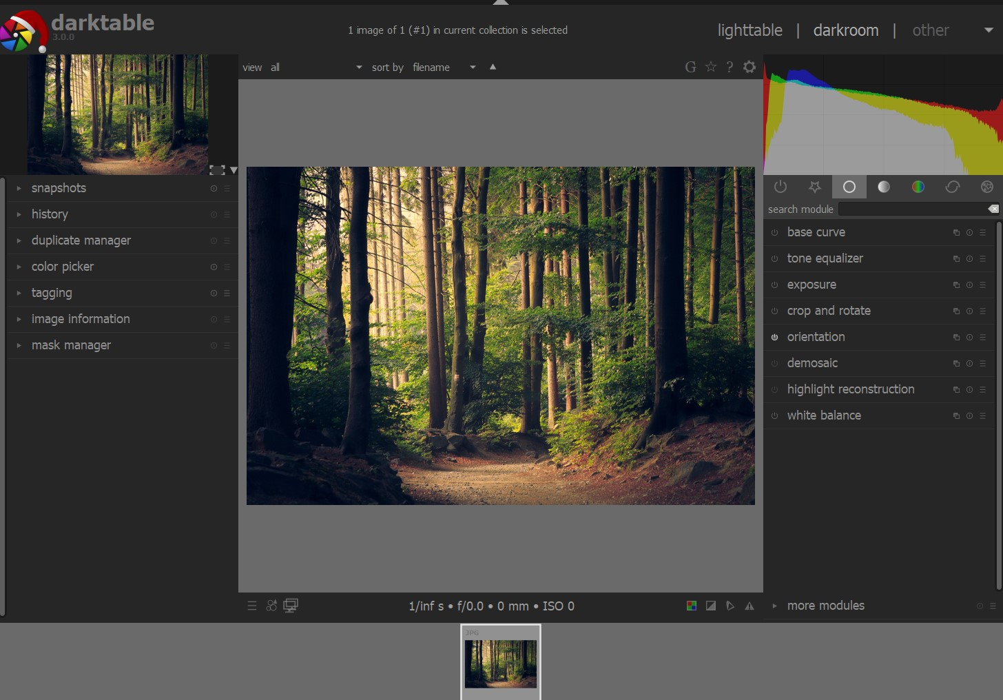 Darktable 3 0 Released With New Features Bug Fixes And Major Gui Update Digital Photography Review