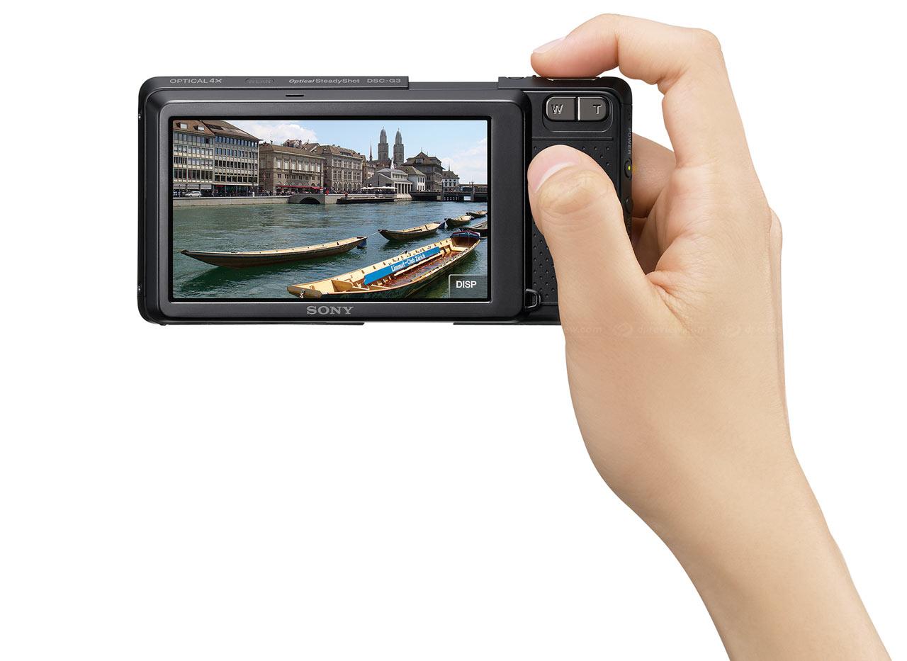 sony introduces wi fi enabled cyber shot dsc g3 digital photography