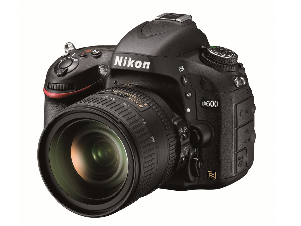 Nikon announces D600 24MP enthusiast full-frame DSLR: Digital ...