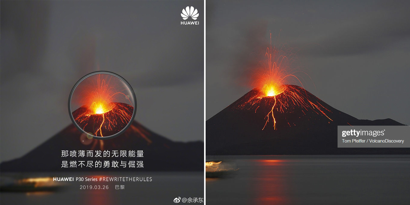 3rd time isn't a charm for Huawei, who once again gets busted faking