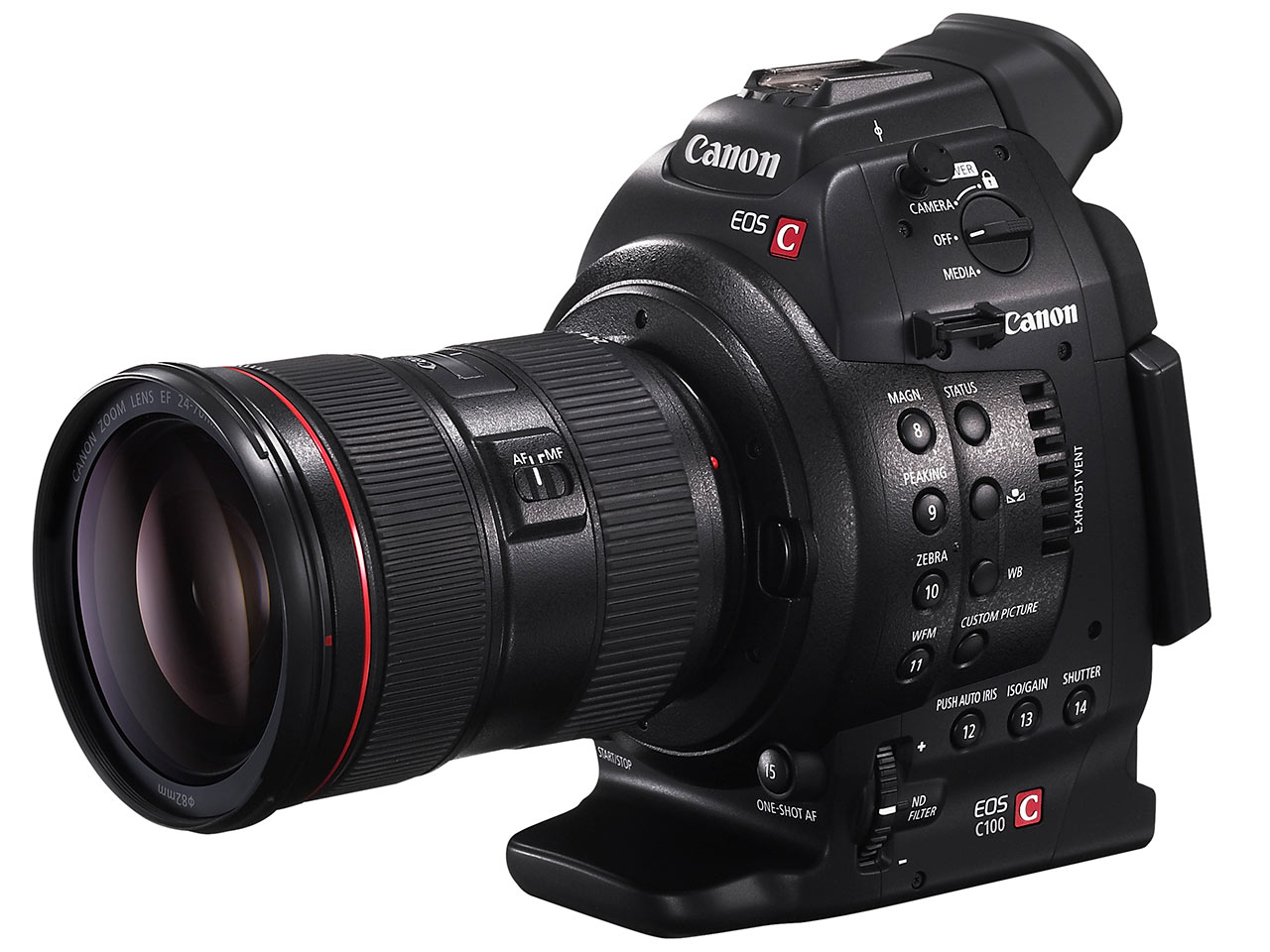 canon announces eos c100 professional video camera digital rh dpreview com Nikon D5300 Manual Nikon Coolpix Manual