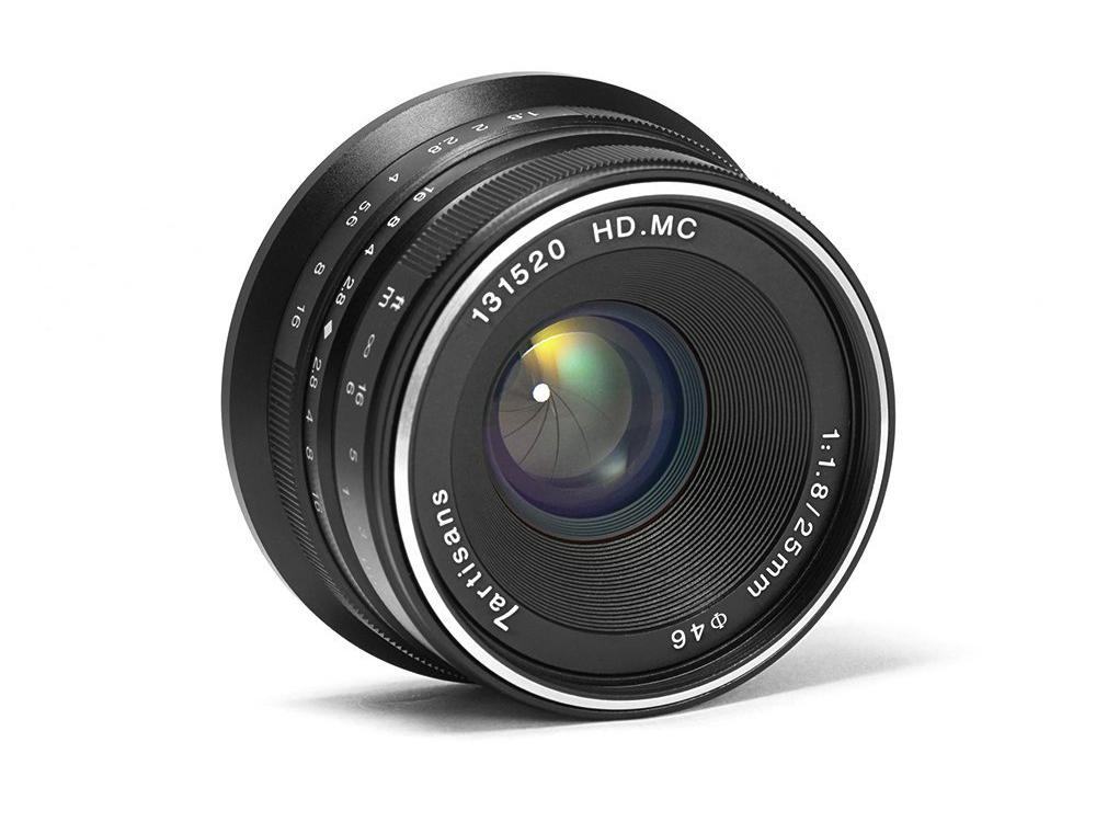 25mm f/1.8 | Sony E/Fujifilm X/MFT | $70
