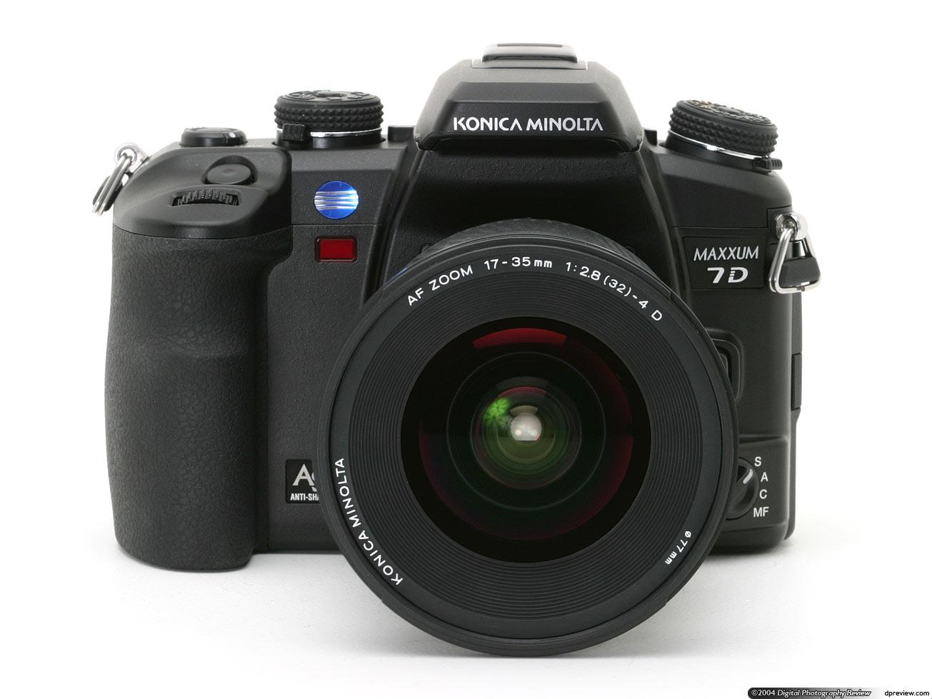 konica minolta maxxum 7d review - Minolta Digital Camera