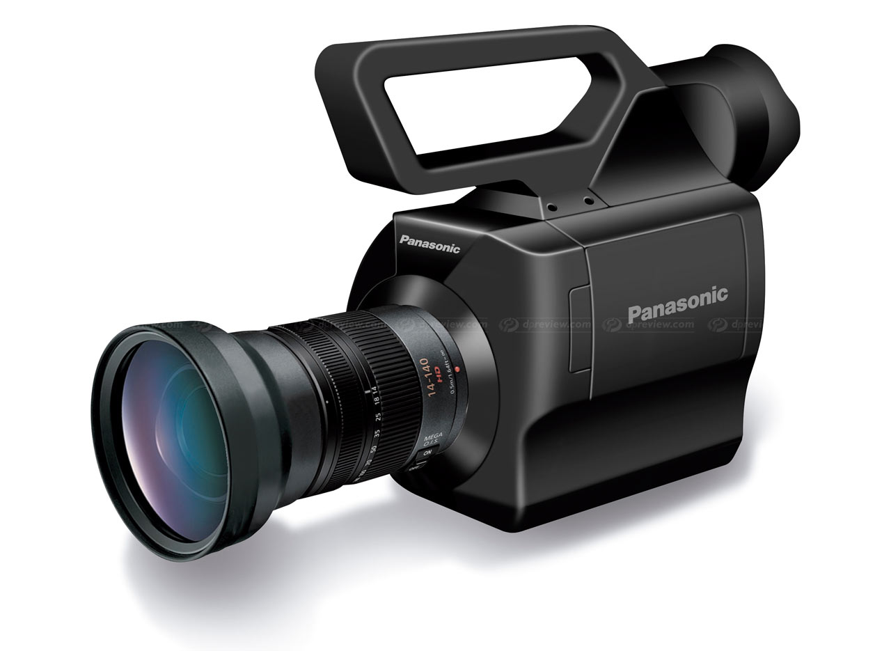 panasonic announces micro four thirds camcorder digital photography rh dpreview com Canon Vixia HD Camcorder HD Camcorder Sunglasses