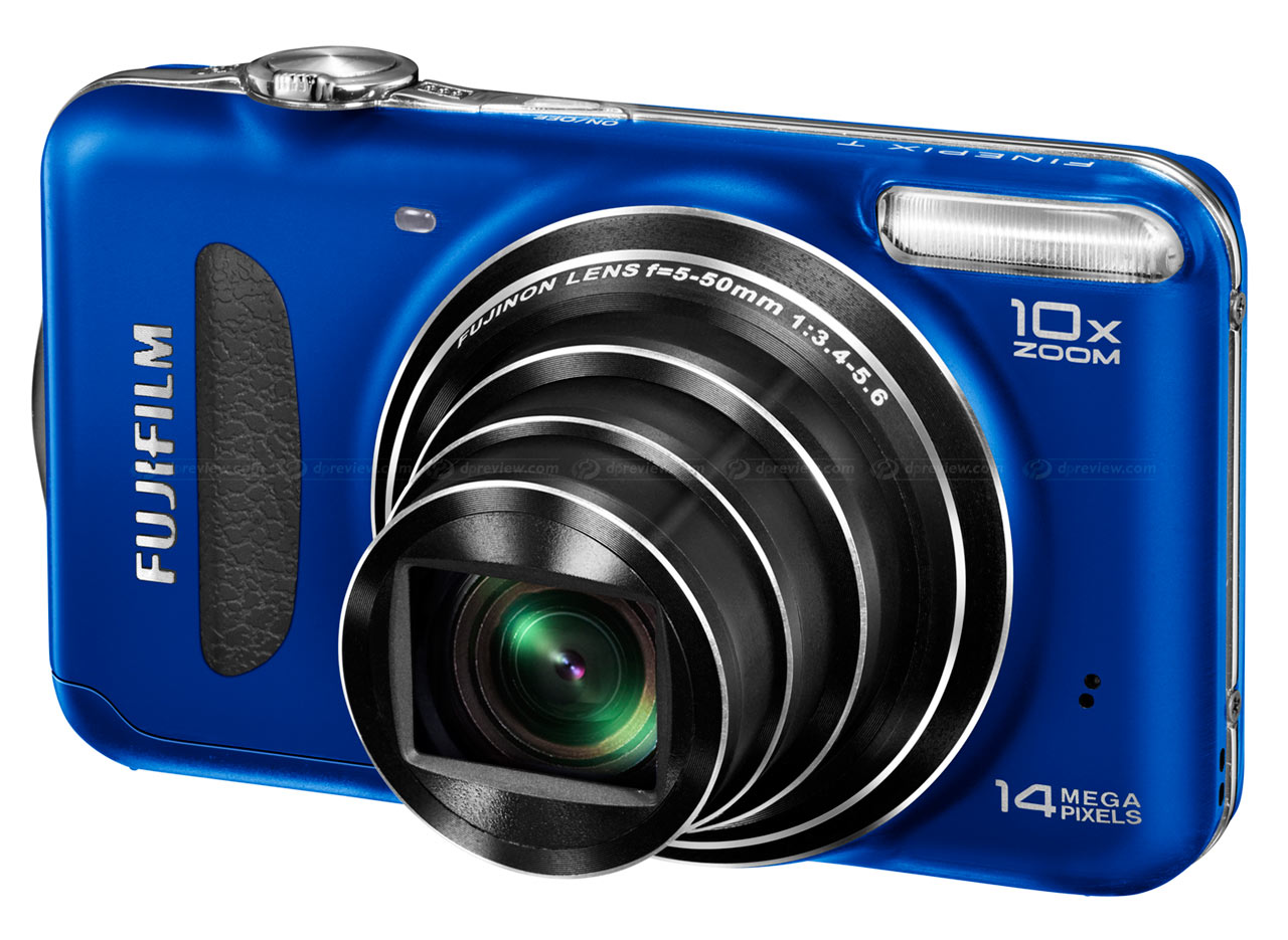 FinePix T200– Fujifilm has great photography down to a 'T' with the world's  thinnest 10x zoom compact camera!*