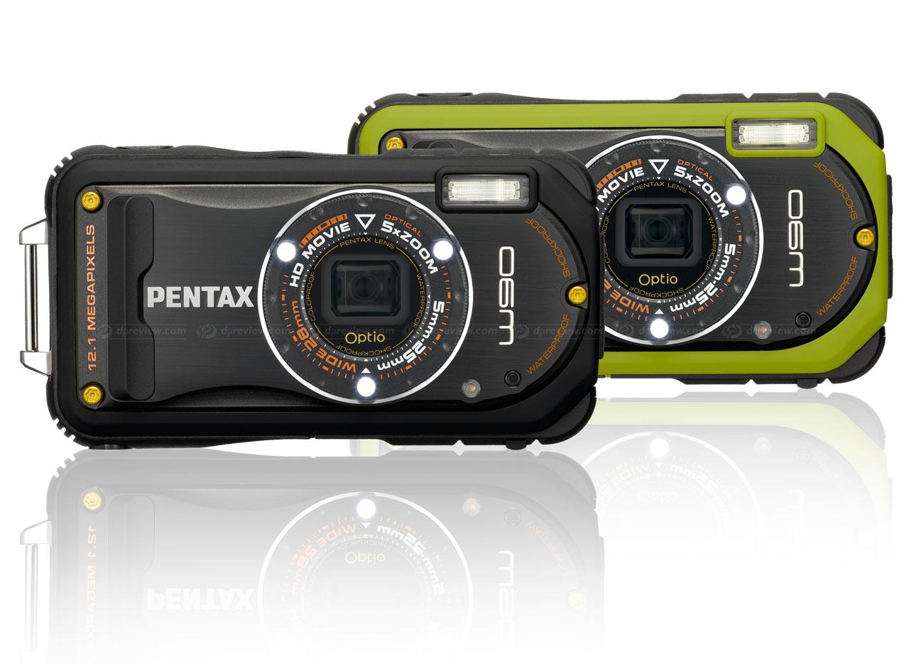 Pentax Unveils Optio W90 Rugged Compact Camera Digital