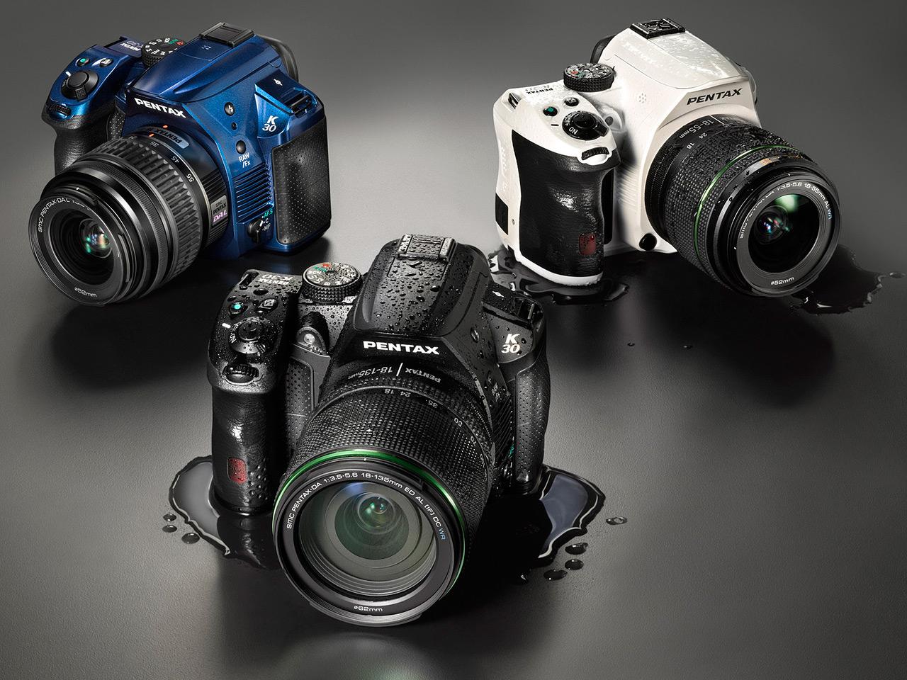 Camera Latest Pentax Dslr Camera pentax k 30 16mp weather sealed mid level dslr previewed digital introduces new slr camera