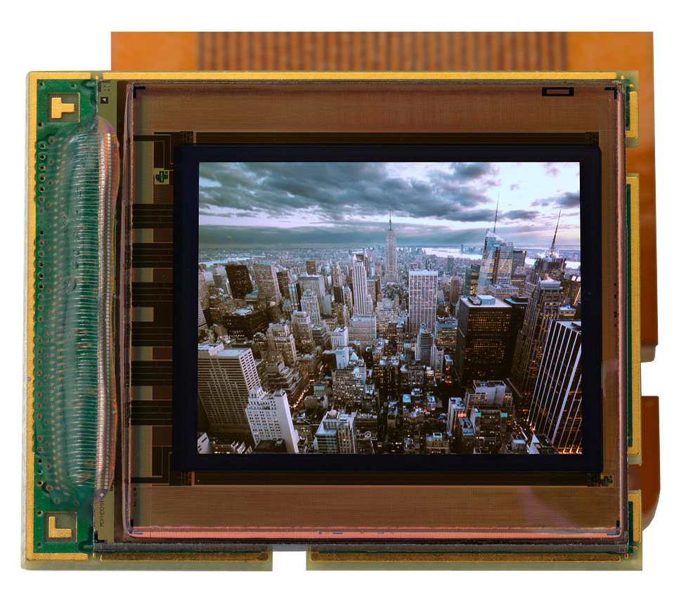 MicroOLED promises even greater electronic viewfinder